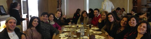 Christmas Lunch: December 2013