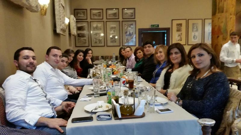Christmas Lunch: December 2014